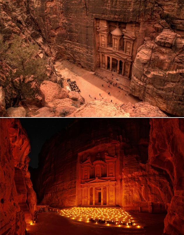 Petra-antiga-Jordania